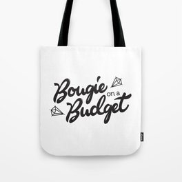 Bougie on a Budget Tote Bag