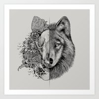 New Wolf (Half Life) Art Print
