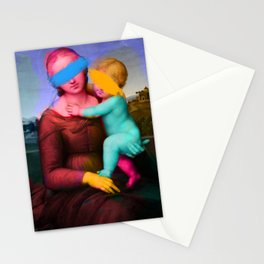 Raphael Classical Painting Remix Pop Art Stationery Cards