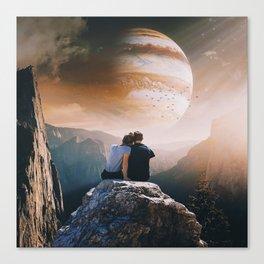 A Weird Planet Canvas Print