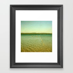 Bathing Beauties Framed Art Print