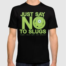 Just Say No Mens Fitted Tee X-LARGE Black