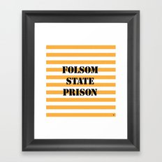 Folsom State Prison Framed Art Print