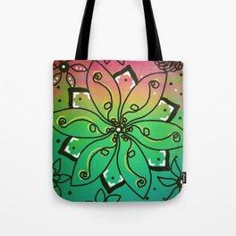 Flower Jammin' Tote Bag