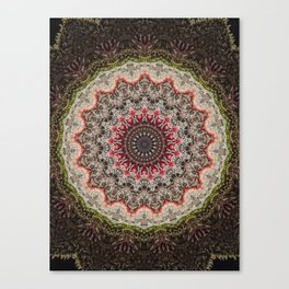 Trichome Crystal Portal Canvas Print