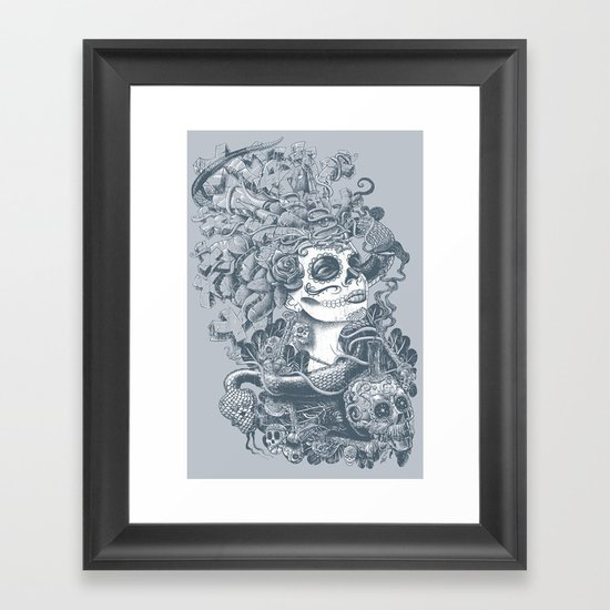 Do of the Dead Framed Art Print
