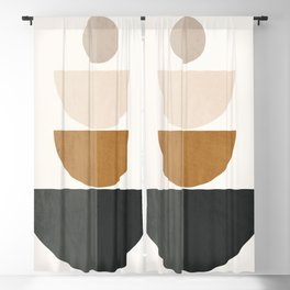 Abstract Geometric 58 Blackout Curtain