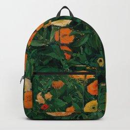 """Koloman (Kolo) Moser """"Marigolds"""" Backpack"""