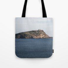 Greek seascape - landscape photography poster - Cape Sounio - Greece Tote Bag