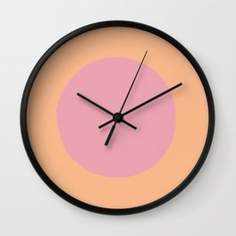 Pink Bit Wall Clock
