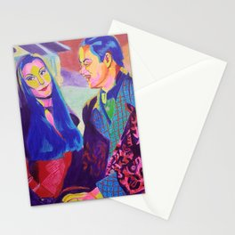 Morticia and Gomez Stationery Cards