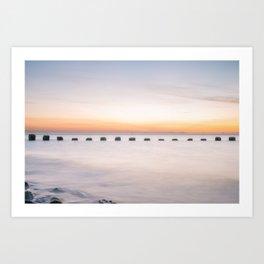 Dusk Sea Art Print