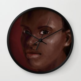 Kina Jones Wall Clock