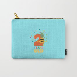 Two Years second Birthday Party Pineapple Db5mi Carry-All Pouch