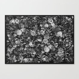 Baroque Macabre II Canvas Print