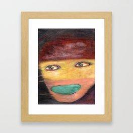 Working Class Framed Art Print