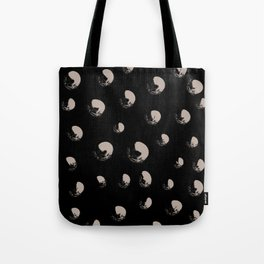 Misty Dots Abstract Tote Bag