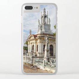 Christopher Columbus Necropolis Cemetery Graveyard Havana Cuba Latin America Gothic Architecture Sai Clear iPhone Case