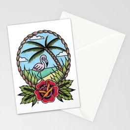 Flamingo Paradise Stationery Cards