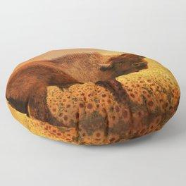Buffalo Dreams Floor Pillow