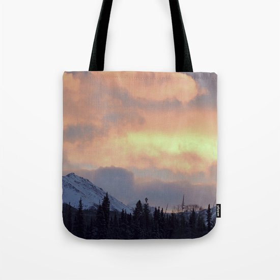 Serenity Rose Mt Sunrise Tote Bag