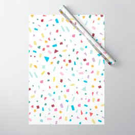 Rainbow Confetti Wrapping Paper