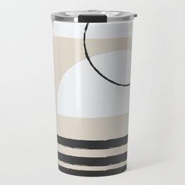 Abstract Modern Art Travel Mug