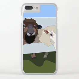 hungry boys Clear iPhone Case