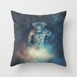 Into The Oort Cloud Throw Pillow