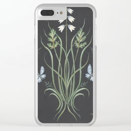 Wild Grass Clear iPhone Case