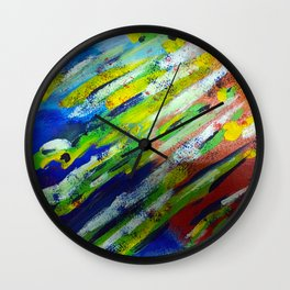 Underwater Painting Wall Clock