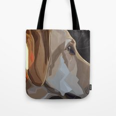 Latte Dog Tote Bag