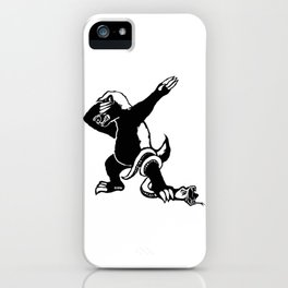 Dabbing Honey badger iPhone Case