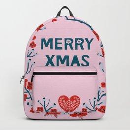 A Scandinavian Christmas - berries & flora Backpack