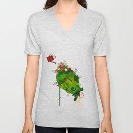 Rococo: The Gardener Unisex V-Neck