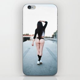 you got to set yourself free iPhone Skin
