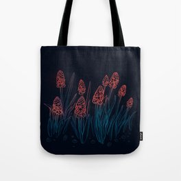 Hyacinths in the night Tote Bag