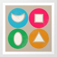 elements 1 Art Print