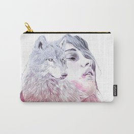 A Wolf in Girls Clothings Carry-All Pouch