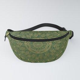 Mandala Royal - Green and Gold Fanny Pack
