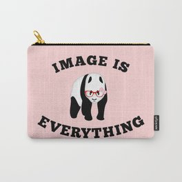Panda Hipster Carry-All Pouch