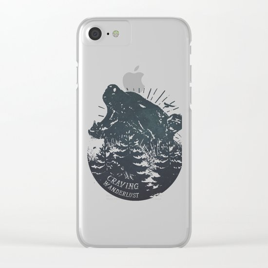 Craving wanderlust II Clear iPhone Case