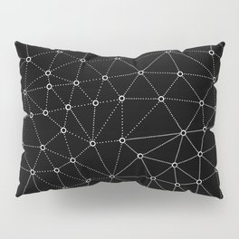 African Triangle Black Pillow Sham