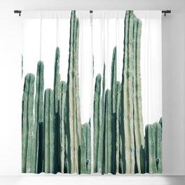Cactus Line Blackout Curtain