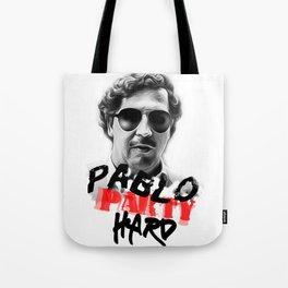 pablo escobar print Tote Bag