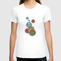 polka T-shirts featuring Giraffe Polka by Paula Belle Flores