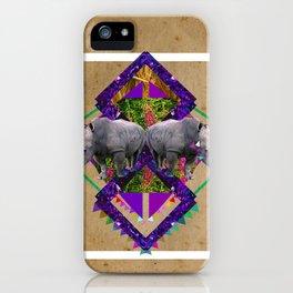 Rhinoceroses  iPhone Case