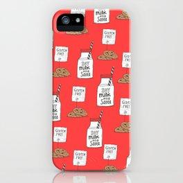 Gluten free Christmas iPhone Case