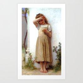 """William-Adolphe Bouguereau """"En Penitence (In Penitence)"""" Art Print"""