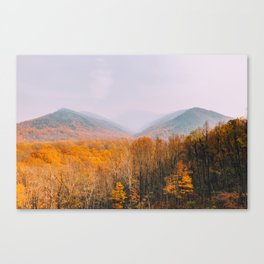 The Mountains Know the Fire is Coming Canvas Print